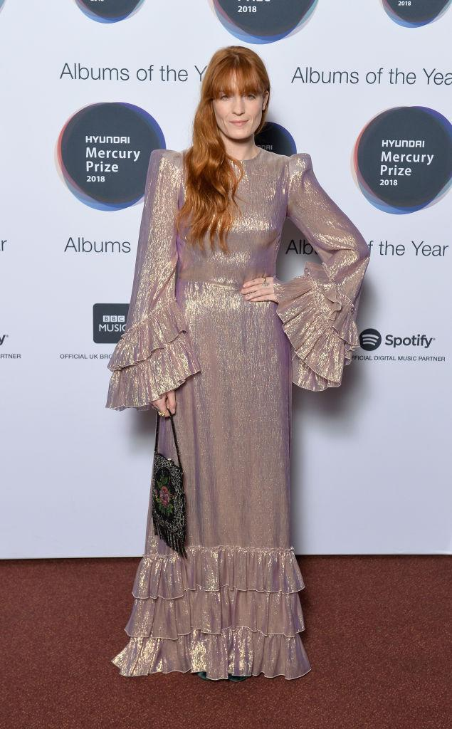 <p>On September 20, Florence Welch graced the red carpet in a seriously lust-worthy dress for the 2018 Mercy Prize Awards. Hands up, who else is in need of her bag? <em>[Photo: Getty]</em> </p>