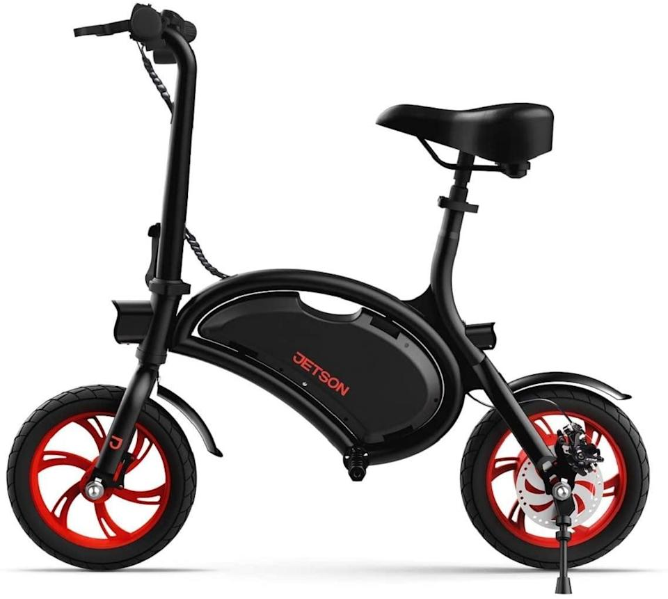 <p>This <span>Jetson Bolt Folding Electric Bike</span> ($400, originally $500) is foldable and so easy to get around with.</p>