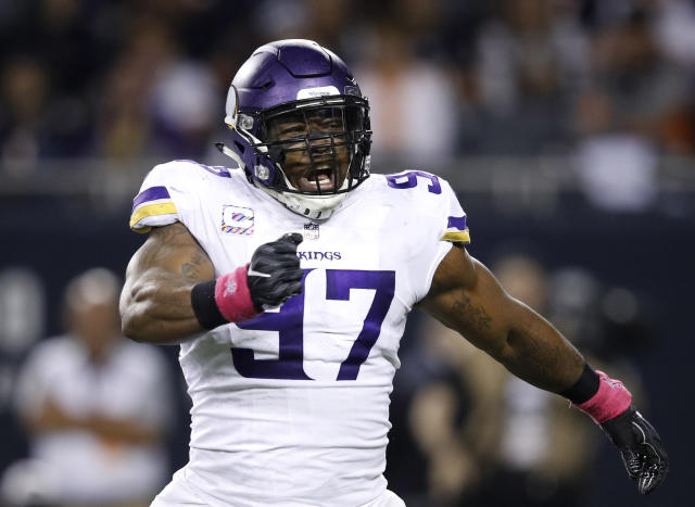 Vikings defensive end Everson Griffen will rejoin the team this week after missing five games due to a personal health issue. (Getty Images)