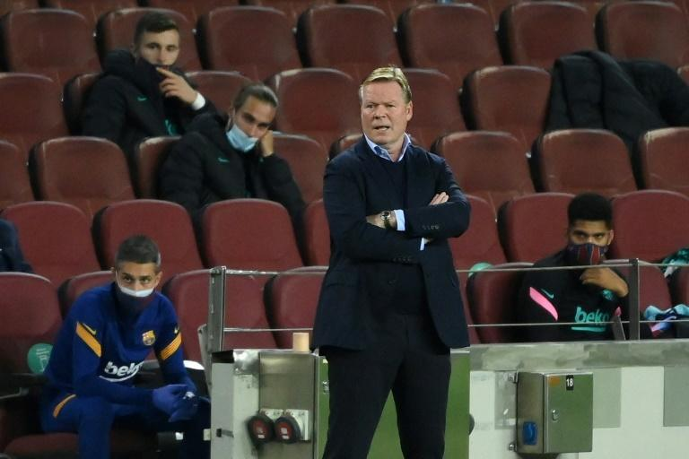 Coach Ronald Koeman's credit remains low, having been appointed by a now-departed president