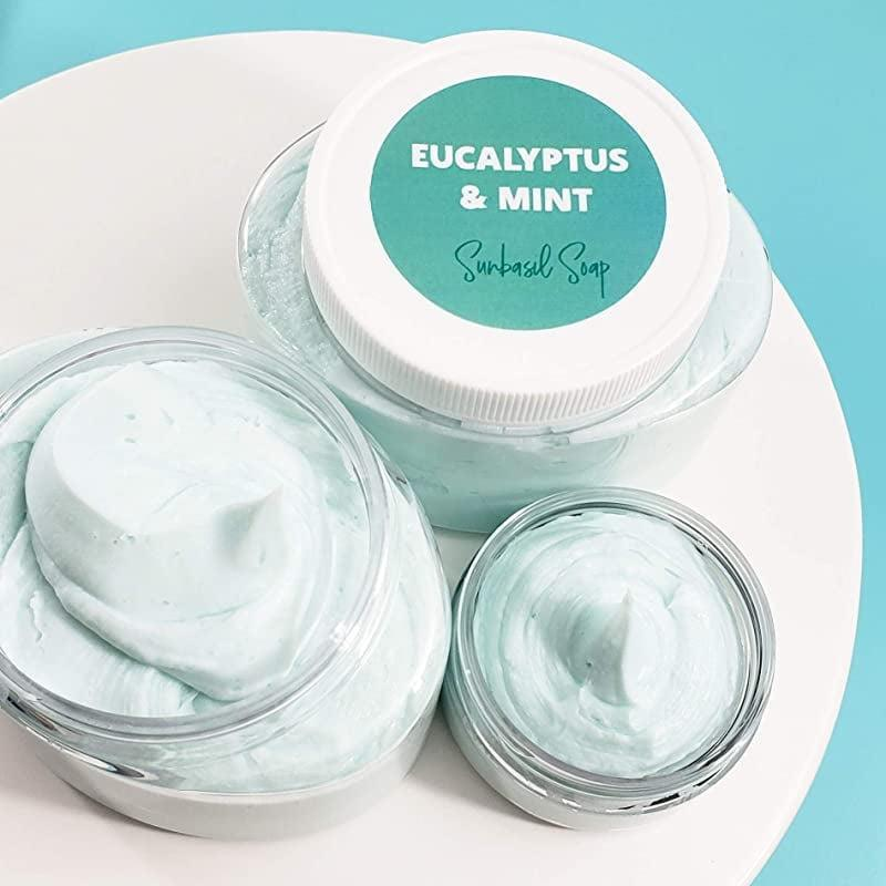 <p>Revitalize your skin with the lightweight but nourishing <span>Eucalyptus and Mint Whipped Body Butter</span> ($19).</p>