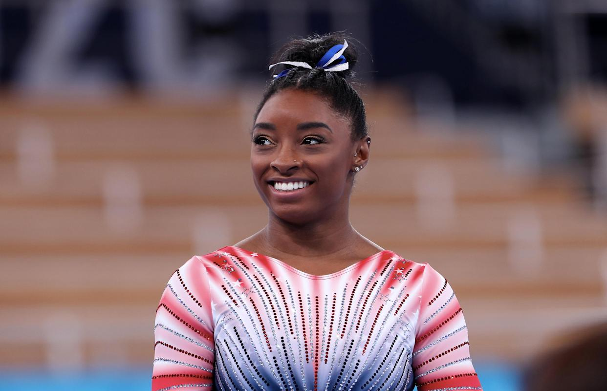 Simone Biles gets candid about her gymnastics career. (Photo: Getty Images)