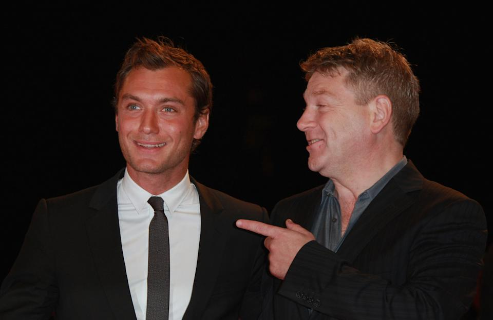 VENICE, ITALY - AUGUST 30: Jude Law and Kenneth Branagh attend the Sleuth premiere during Day 2 of the 64th Annual Venice Film Festival on August 30, 2007 in Venice, Italy. (Photo by George Pimentel/WireImage)
