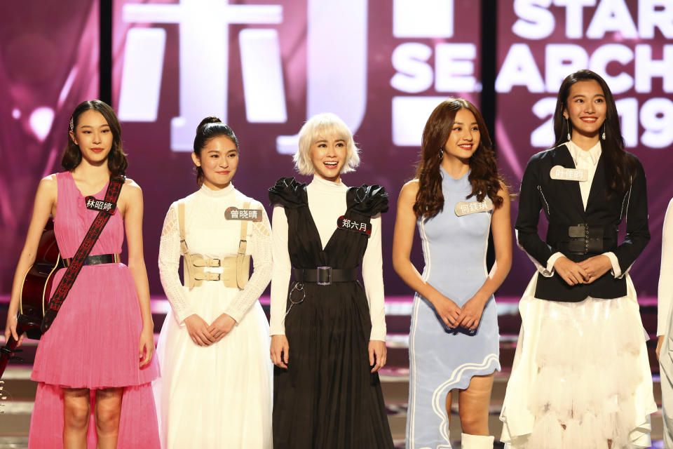 The female finalists at Star Search 2019. (PHOTO: Mediacorp)