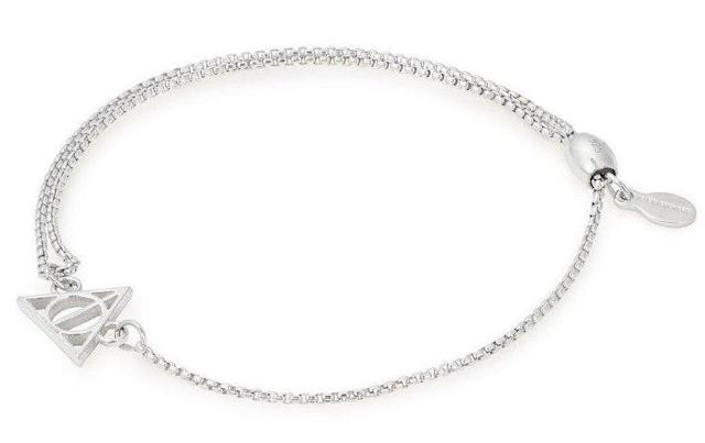 Pull chain bracelet from <span>Alex and Ani's Harry Potter collection</span>.