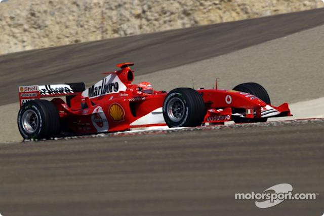 "2004: Michael Schumacher, Ferrari F2004 <span class=""copyright"">Ferrari Media Center</span>"