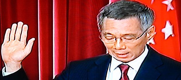 PM Lee acknowledges Singaporeans' concerns with ministerial salaries. (Yahoo! photo)