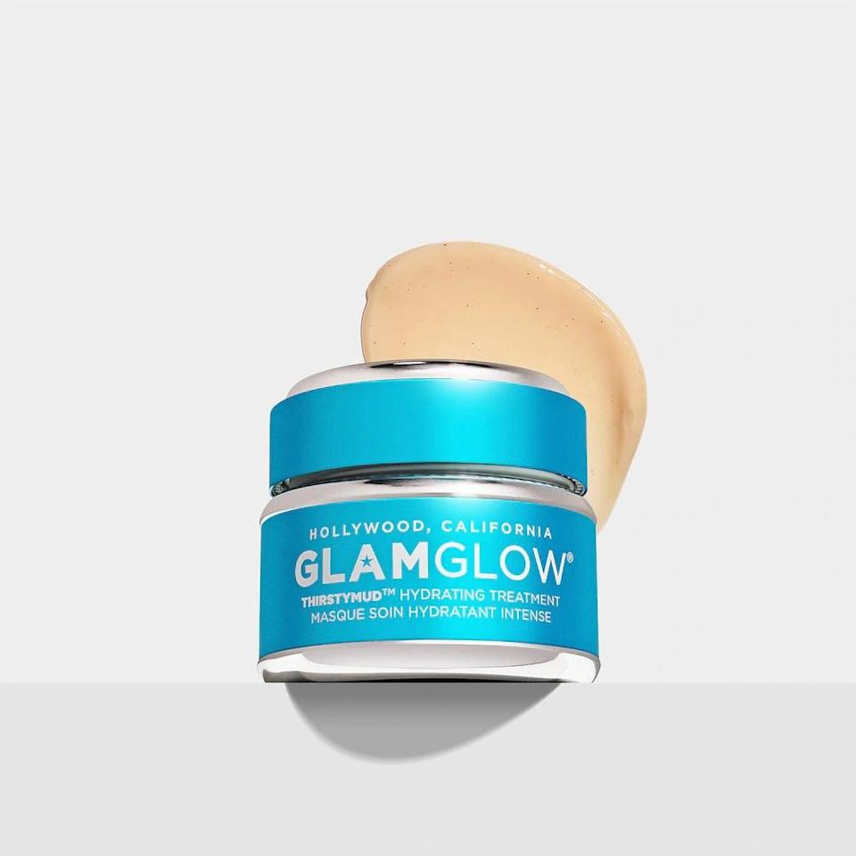 <p>Soothe your skin with intense moisture and hydration with the <span>GlamGlow ThirstyMud 24-Hour Hydrating Treatment Face Mask</span> ($25-$86).</p>
