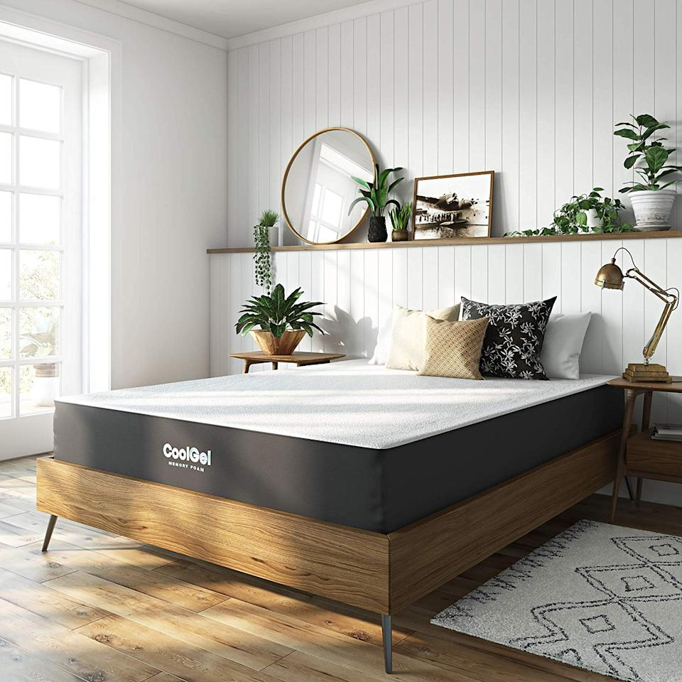 Classic Brands Cool Gel Ventilated Mattress (Full). (Photo: Amazon)