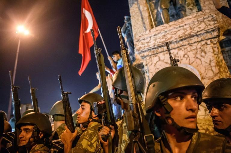 Some 250 people -- in addition to at least 24 plotters -- died on the night of the failed coup