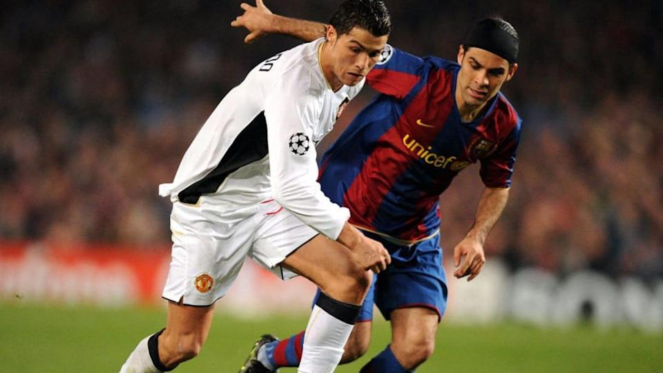 UEFA Champions League Semifinales, temporada 2007-08 | Manchester United vs FC Barcelona | ANDREW YATES/Getty Images