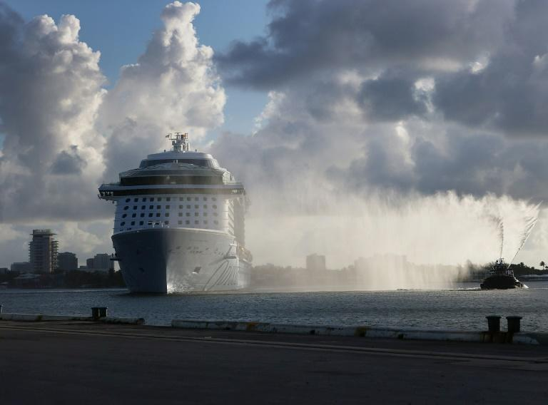 The Royal Caribbean's Odyssey of the Seas is preparing, with the rest of the cruise industry, to resume operations, but Florida's Covid rules have proved problematic