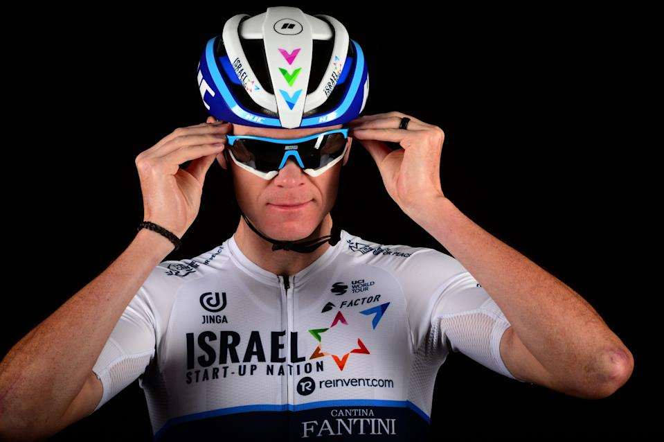 Chris Froome has joined from the Ineos Grenadiers (Israel Start-Up Nation handout)