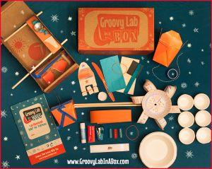 """<a href=""""https://fave.co/2UwGi15"""" target=""""_blank"""" rel=""""noopener noreferrer"""">Groovy Lab in a Box</a> is all about STEM. Motivated by kids' curiosity, the subscription includes monthly boxes filled with everything kids need to complete activities like """"inquiry experiments"""" and """"engineering design challenges,"""" as well as accessories like notebooks and lab safety glasses. According to the site, Groovy Lab in a Box has a team of """"scientists, parents, educators and business owners who have worked in the private sector of the science community"""" behind it encouraging kids to embrace their love for STEM. Boxes are available for<a href=""""https://fave.co/2UwGi15"""" target=""""_blank"""" rel=""""noopener noreferrer""""> $30 in the month-to-month option</a> or in bundles."""