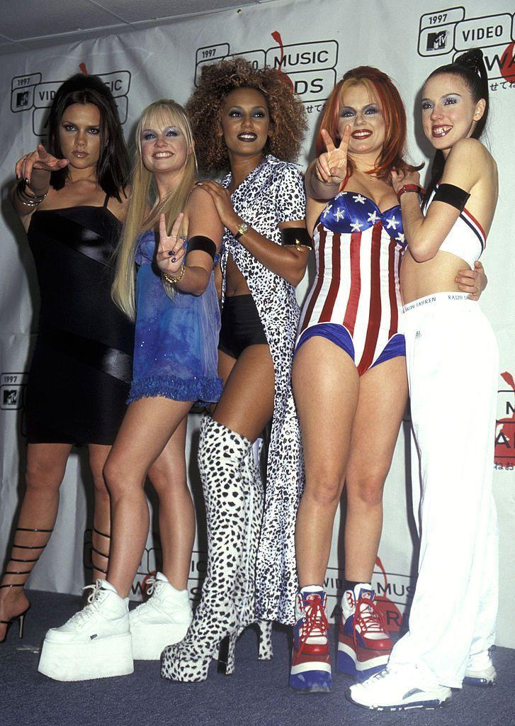 <p><strong>When? </strong>September, 1997</p><p><strong>Where? </strong>Radio City Music Hall, New York City</p><p><strong>What? </strong>The MTV Video Music Awards</p>