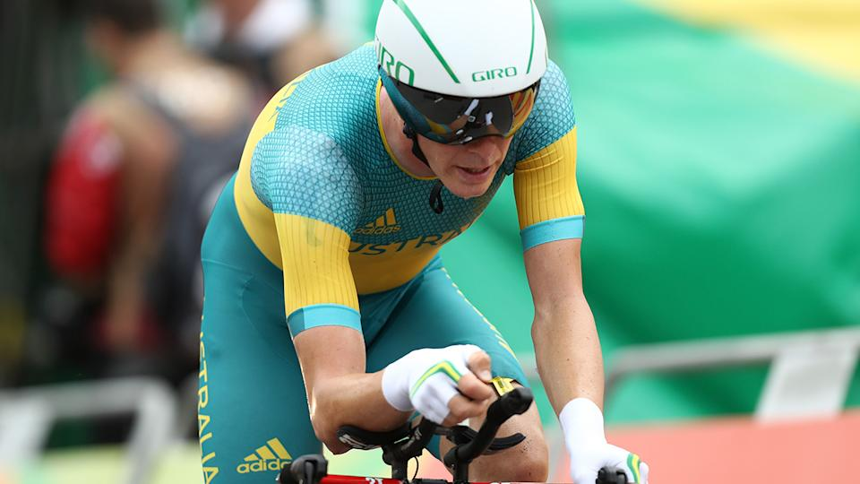 Rohan Dennis, pictured here in action at the 2016 Olympics in Rio.