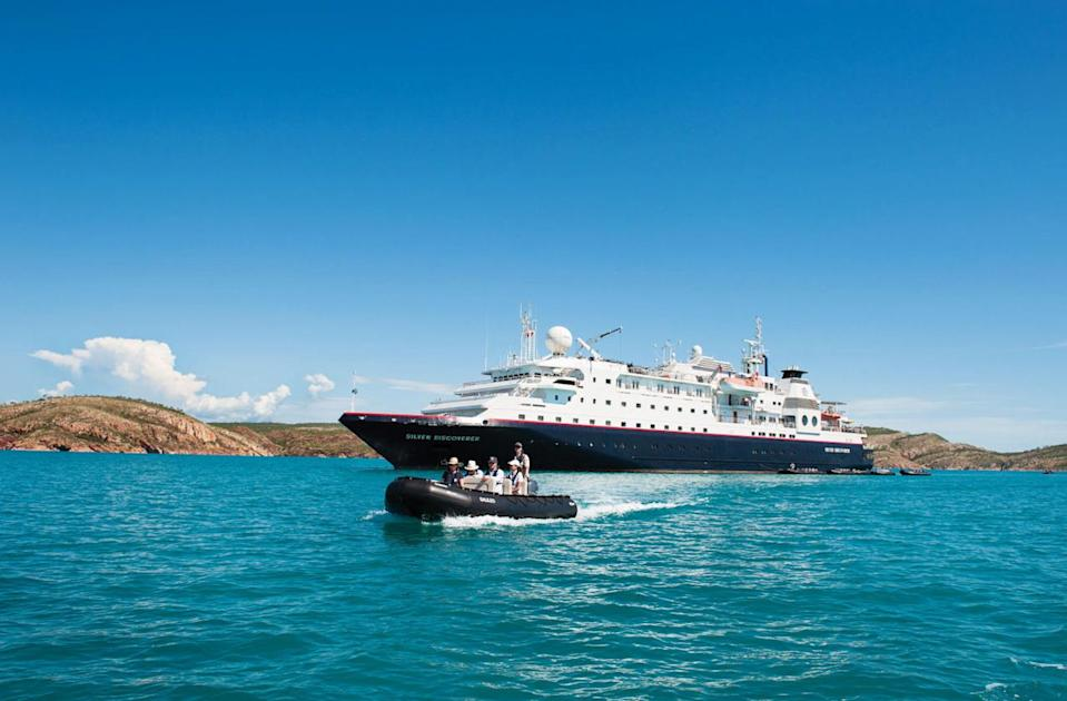 """<p>What's New: <a href=""""http://www.fodors.com/cruises/silversea-cruises-676725"""" rel=""""nofollow noopener"""" target=""""_blank"""" data-ylk=""""slk:Silversea"""" class=""""link rapid-noclick-resp"""">Silversea</a>, a leader in exotic, ultra-luxury Africa cruises, is launching a new expedition in December 2016 that incorporates a visit to an array of far-flung African and Asian locales, including no fewer than five different UNESCO World Heritage Sites. Cruise the intimate 120-guest Silver Discoverer (part of the line's expedition fleet) on a brand-new 17-night voyage from the Maldives (in Asia) to Tanzania, for a rare visit to Aldabra, in the Outer Islands of the Seychelles, where guests will have two days to explore the UNESCO-protected marine sanctuary of the world's second-largest atoll. The ship, equipped with 12 Zodiacs, calls upon several additional stops throughout the Maldives, Seychelles, Mayotte, Mozambique, and Tanzania, where additional UNESCO sites visited include the Vallée de Mai Nature Reserve (in the Seychelles), Kilwa Ruins (Tanzania), Mozambique Island, and Stone Town (Zanzibar, Tanzania). </p><p>Set Sail: This holiday/New Year's Eve expedition embarks on December 17, 2016; rates start at $13,185/person, including all tours and activities, alcoholic beverages, use of expedition gear, butler service, and gratuities. (Photo: Courtesy of Silversea)<br></p>"""