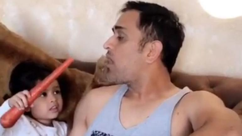 MS Dhoni and Ziva rocked the internet with their latest video