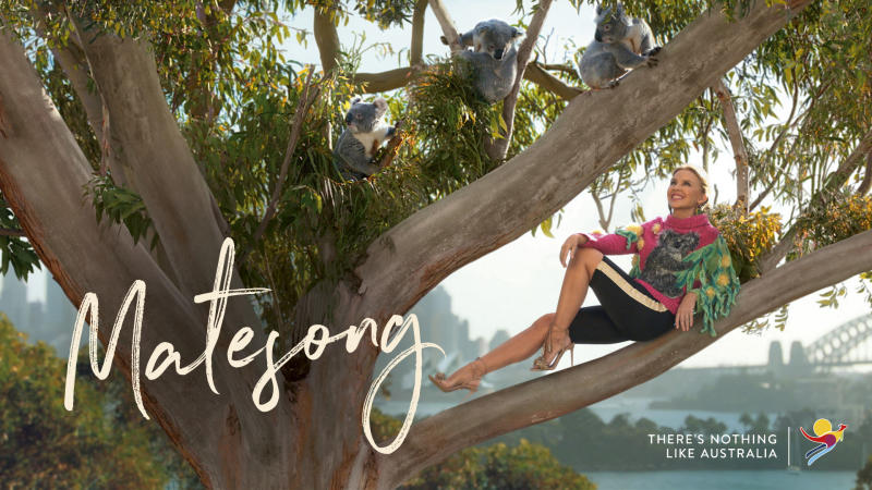 Tourism Australia's 'Matesong' campaign featuring Kylie Minogue