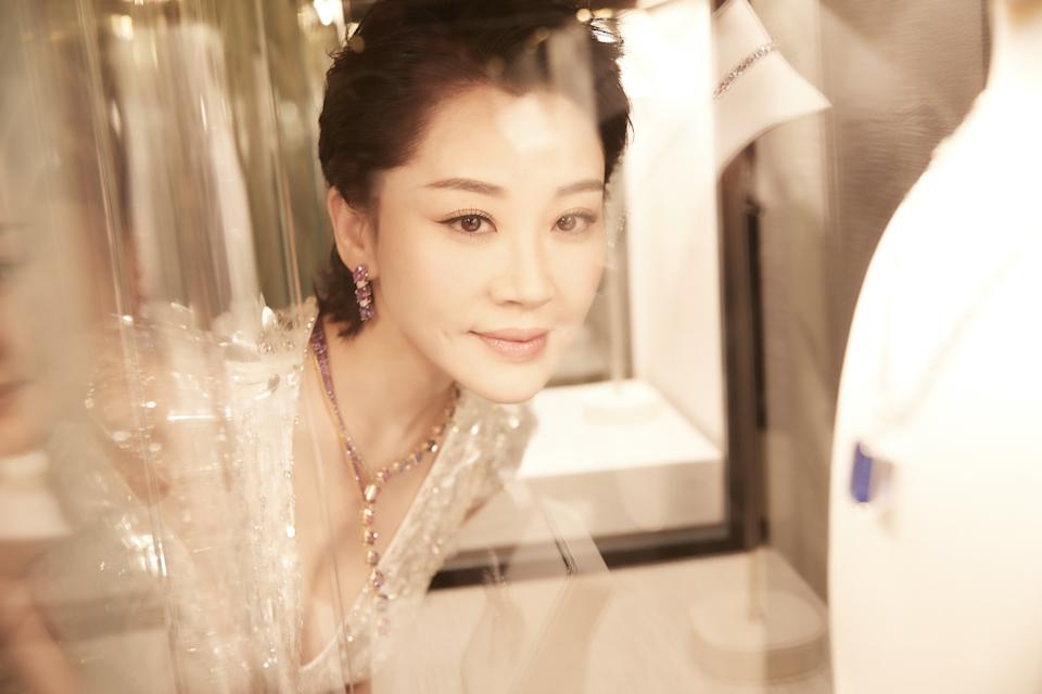 Chinese actress Xu Qing. (PHOTO: Tiffany & Co.)