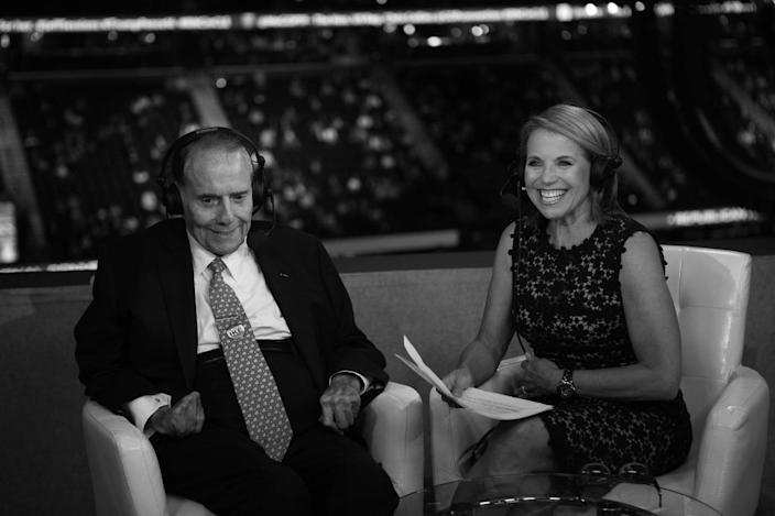 <p>Former Senator Bob Dole is interviewed by Yahoo News Global Anchor Katie Couric during the RNC Convention in Cleveland, OH on July 19, 2016. (Photo: Khue Bui for Yahoo News)</p>