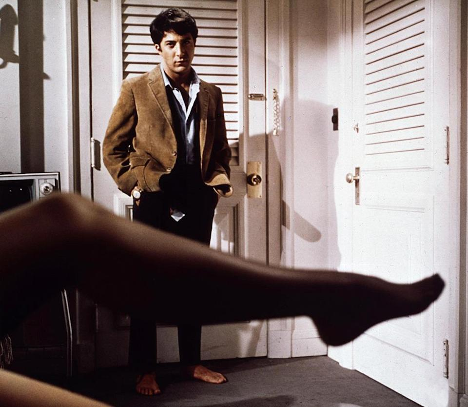 """<a href=""""http://movies.yahoo.com/movie/the-graduate/"""" data-ylk=""""slk:THE GRADUATE"""" class=""""link rapid-noclick-resp"""">THE GRADUATE</a> (1967) <br>Directed by: <span>Mike Nichols</span> <br>Starring: <span>Anne Bancroft</span>, <span>Dustin Hoffman</span> and <span>Katharine Ross</span>"""