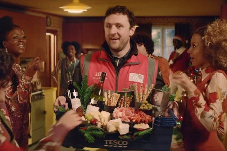 Tesco's Christmas advert in 2019 (Photo: HuffPost UK)