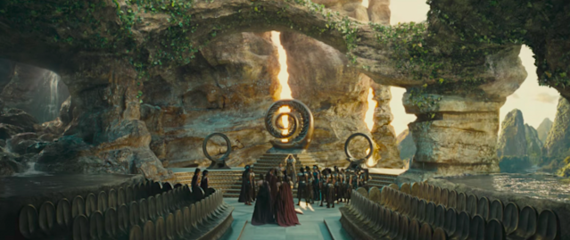 Themyscira in <i>Wonder Woman.</i> (Photo: Warner Bros.)