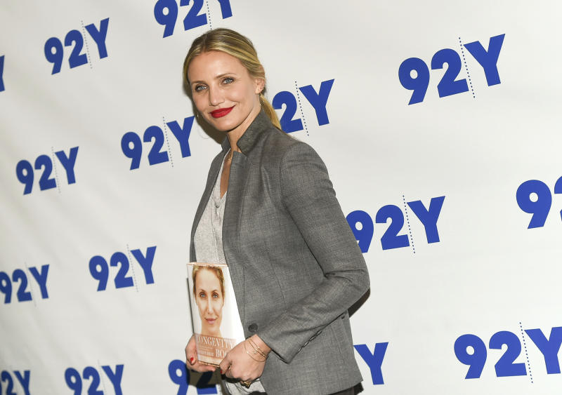 People-Cameron Diaz-Baby
