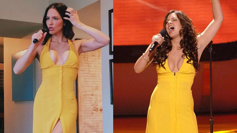 """Katharine McPhee relieved her """"American Idol"""" days with her latest Instagram throwback. (Image via Instagram/Getty Images)"""
