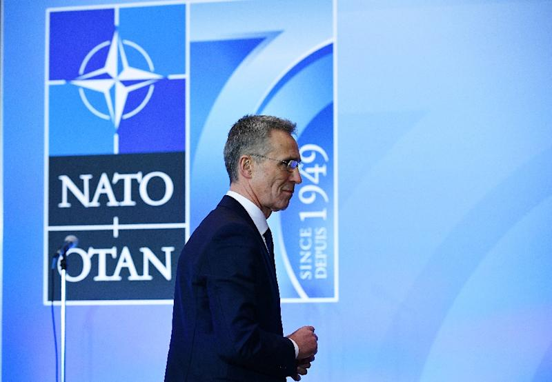 NATO Secretary General Jens Stoltenberg said the alliance is stepping up efforts in the black Sea region (AFP Photo/MANDEL NGAN)