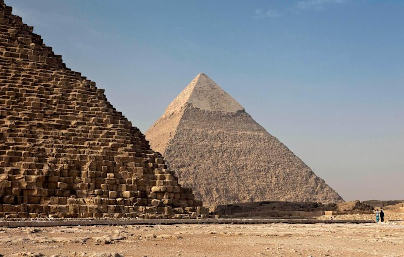 The Giza pyramid is one of the seven wonders of the world (Ricardo Gomez Angel/Unsplash)