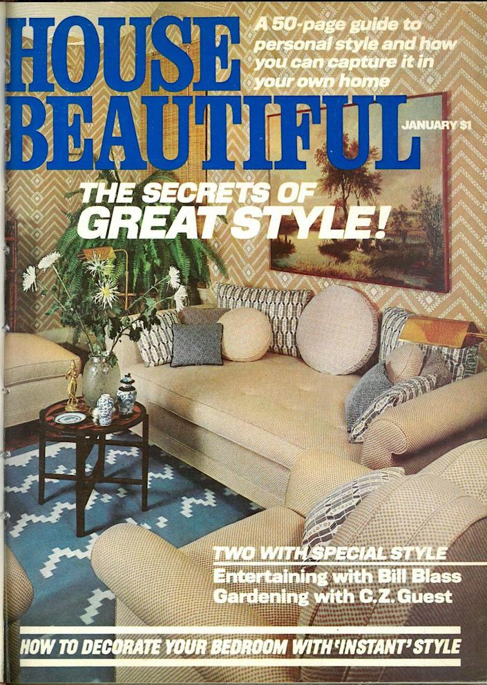 """<p>""""House Beautiful"""" but make the title bolder: the secret to great style.</p>"""