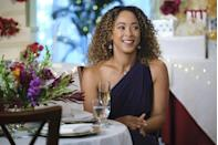 <p><strong>Saturday, October 10 at 9 p.m. on Hallmark Channel</strong></p><p>Josie (played by <strong>Chaley Ros</strong><strong>e</strong>) believes the bridal bouquet always ends up in the right hands. When she catches it instead of her eager-to-be-engaged friend, she's convinced there's been a mistake — until she realizes that there's more to her friendship with Alex (played by <strong>Nathan Witte</strong>) than meets the eye.</p>