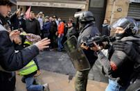 During the first two-and-a-half months of the yellow vest demonstrations that started in November 2018, the police used rubber bullets 9,228 times