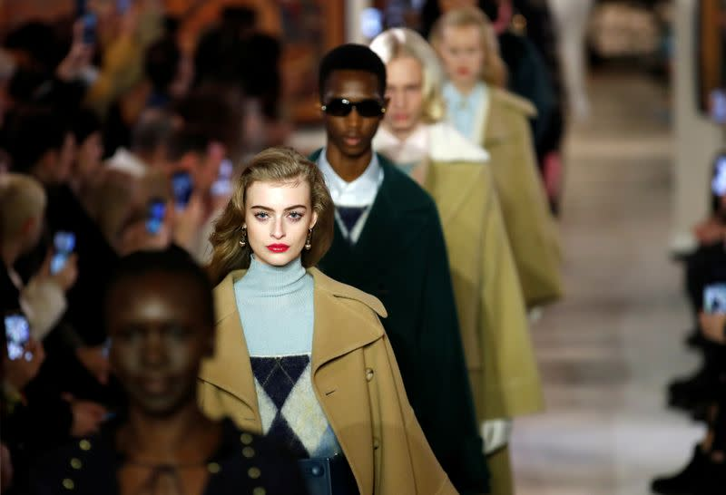 Lanvin collection show at Paris Fashion Week