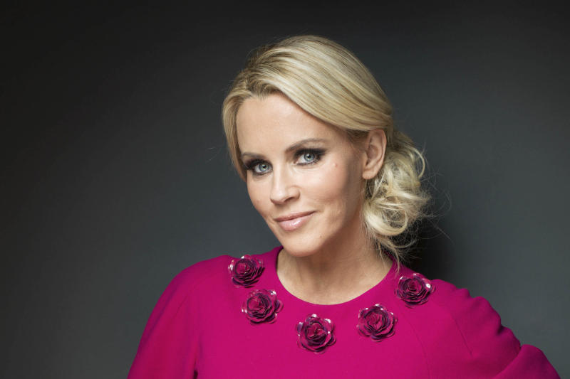 "This Feb. 4, 2013 photo shows American comedian, actress, and author, Jenny McCarthy posing for a portrait, in New York.  McCarthy is host of ""The Jenny McCarthy Show,"" debuting Friday, Feb. 8, on VH1. (Photo by Victoria Will/Invision/AP)"