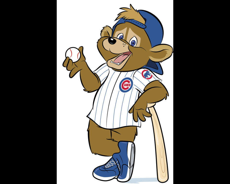This artist's rendering provided Monday, Jan. 13, 2014, by the Chicago Cubs shows Clark, a new mascot being introduced Monday for the first time in team history. The team will officially introduce Clark during a visit with children at Advocate Illinois Masonic Medical Center's Pediatric Developmental Center in Chicago. The team plans on having Clark greet fans at Wrigley Field before and during games. (AP Photo/Chicago Cubs)
