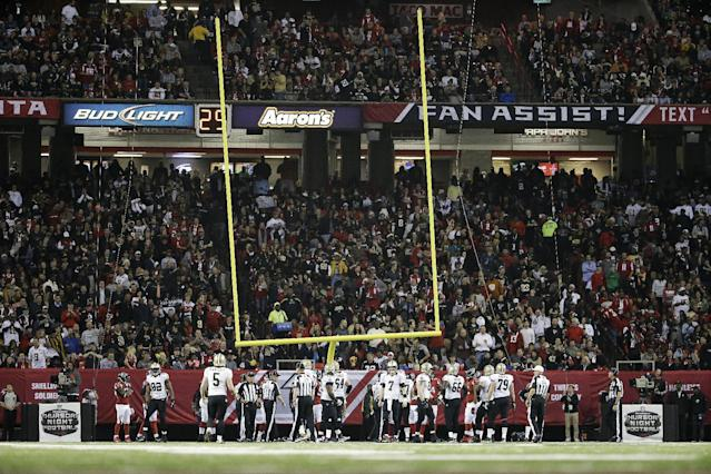 Goal post manufacturers tearing down NFL's decision to increase height of uprights