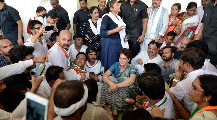 Sonbhadra clashes, Sonbhadra killings, Sonbhadra row, Sonbhadra, tmc stopped from visiting Sonbhadra victims, priyanka gandhi stopped from visiting Sonbhadra victims, derek o brien, tmc