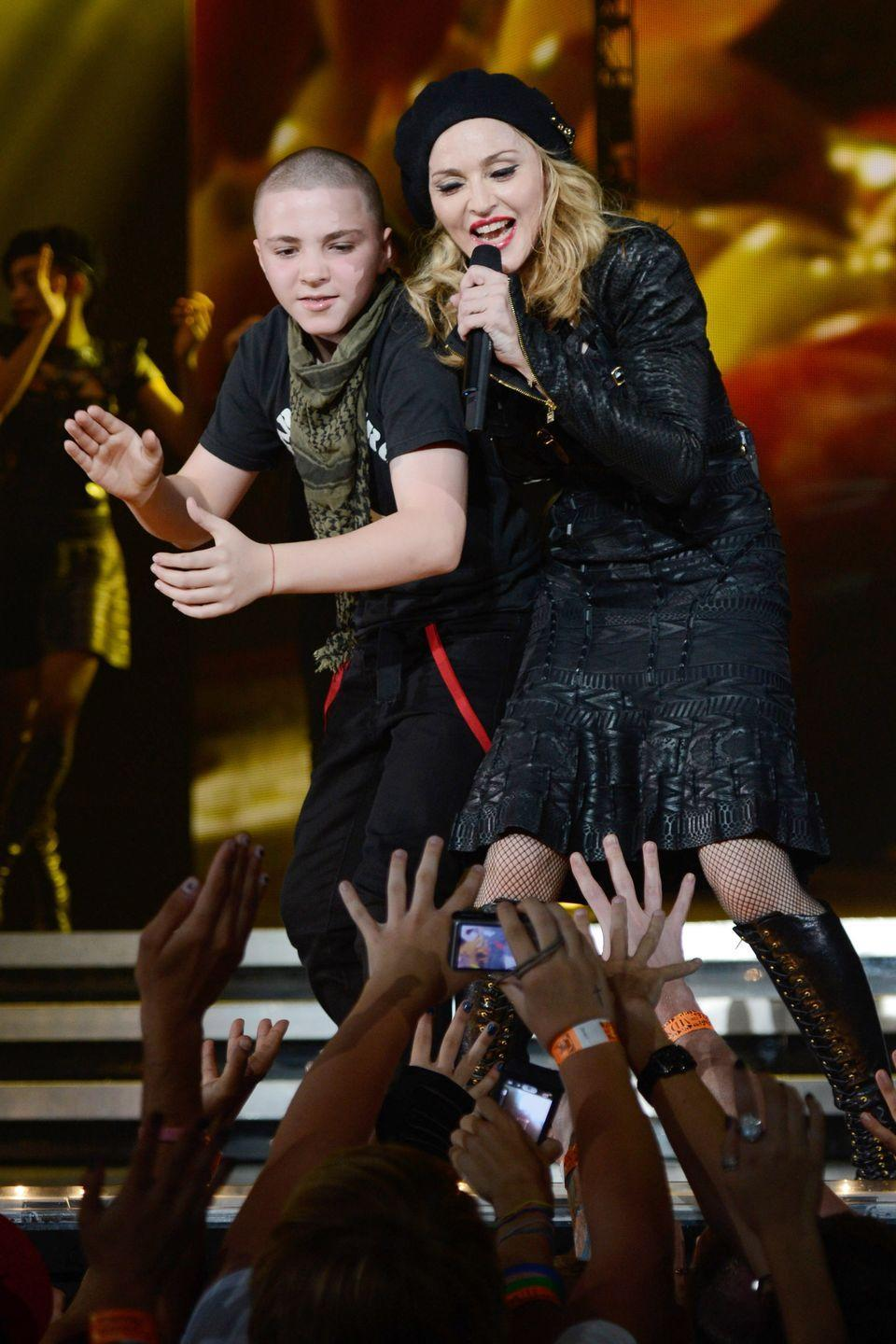 <p>Madonna had her second biological child, son Rocco, when she was 42 years old, after having given birth to her daughter Lourdes in her late 30s. Madonna has welcomed four adopted children into her family in addition to Lourdes and Rocco, bringing her to a total of six kids. </p>
