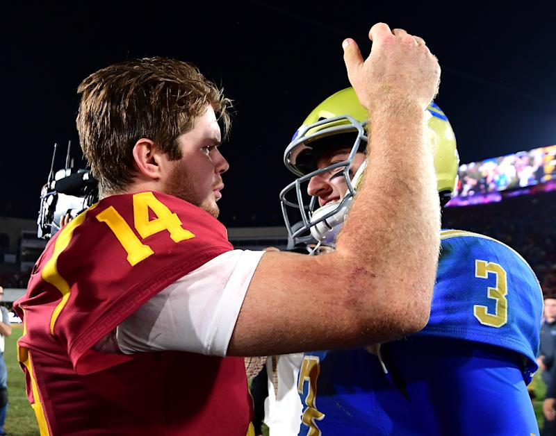 Bills to host private workout with USC QB Sam Darnold