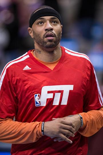 Kenyon Martin, 37, averaged 4.3 points and 4.2 rebounds in 32 games for the Knicks last season. (USAT)