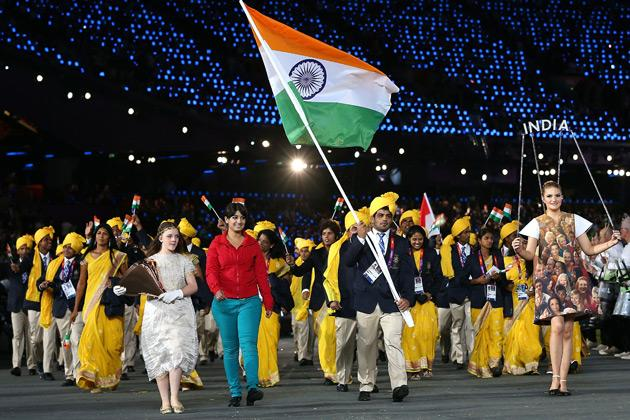 "# Madhura Honey The lady who walked next to flag bearer Sushil Kumar for the entire lap of the Olympic Stadium during the opening ceremony created a lot of buzz as nobody had a clue as to who she was. She was later identified as Madhura Nagendra, a post-graduate from Bengaluru.<br><a target=""_blank"" href=""http://in.news.yahoo.com/photos/gatecrasher-madhura-strikes-again-slideshow/"">More pictures of Madhura Honey as she photobombs history.</a>"