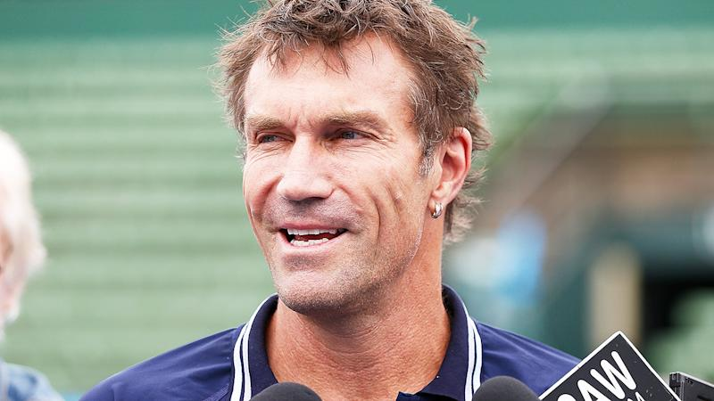 Pat Cash, pictured here in Melbourne in 2018.