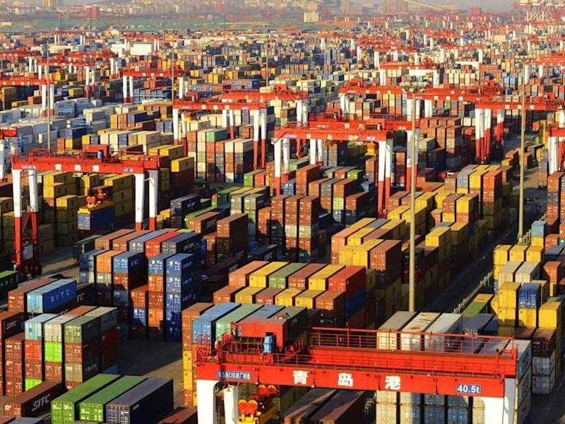 shipping containers trade china