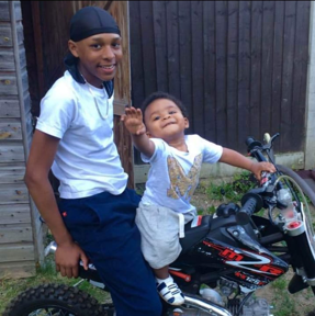 <p>Levi Earnest-Morrison, 17, who was stabbed to death in Sydenham seen here in a family photograph with his younger brother</p> (met police)