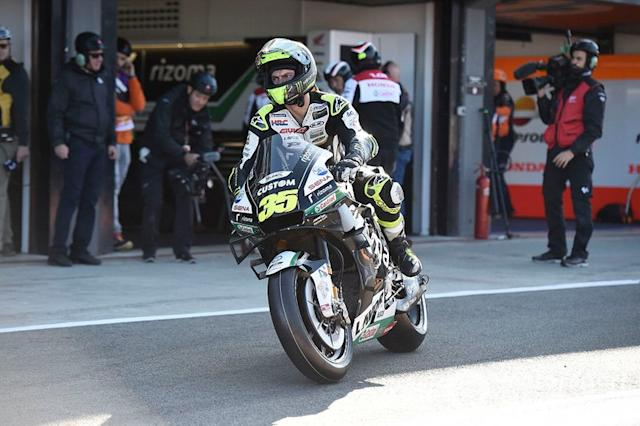 "Cal Crutchlow: 1 control <span class=""copyright"">Gold and Goose / Motorsport Images</span>"