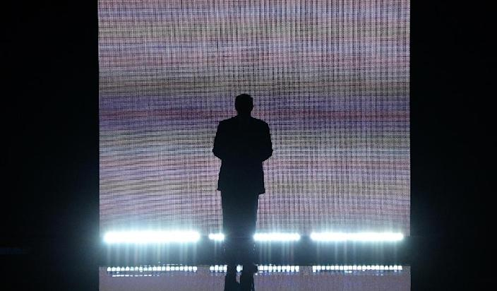 Presumptive Republican presidential candidate Donald Trump arrives on stage on the first day of the Republican National Convention on July 18, 2016 at Quicken Loans Arena in Cleveland, Ohio (AFP Photo/Robyn Beck)