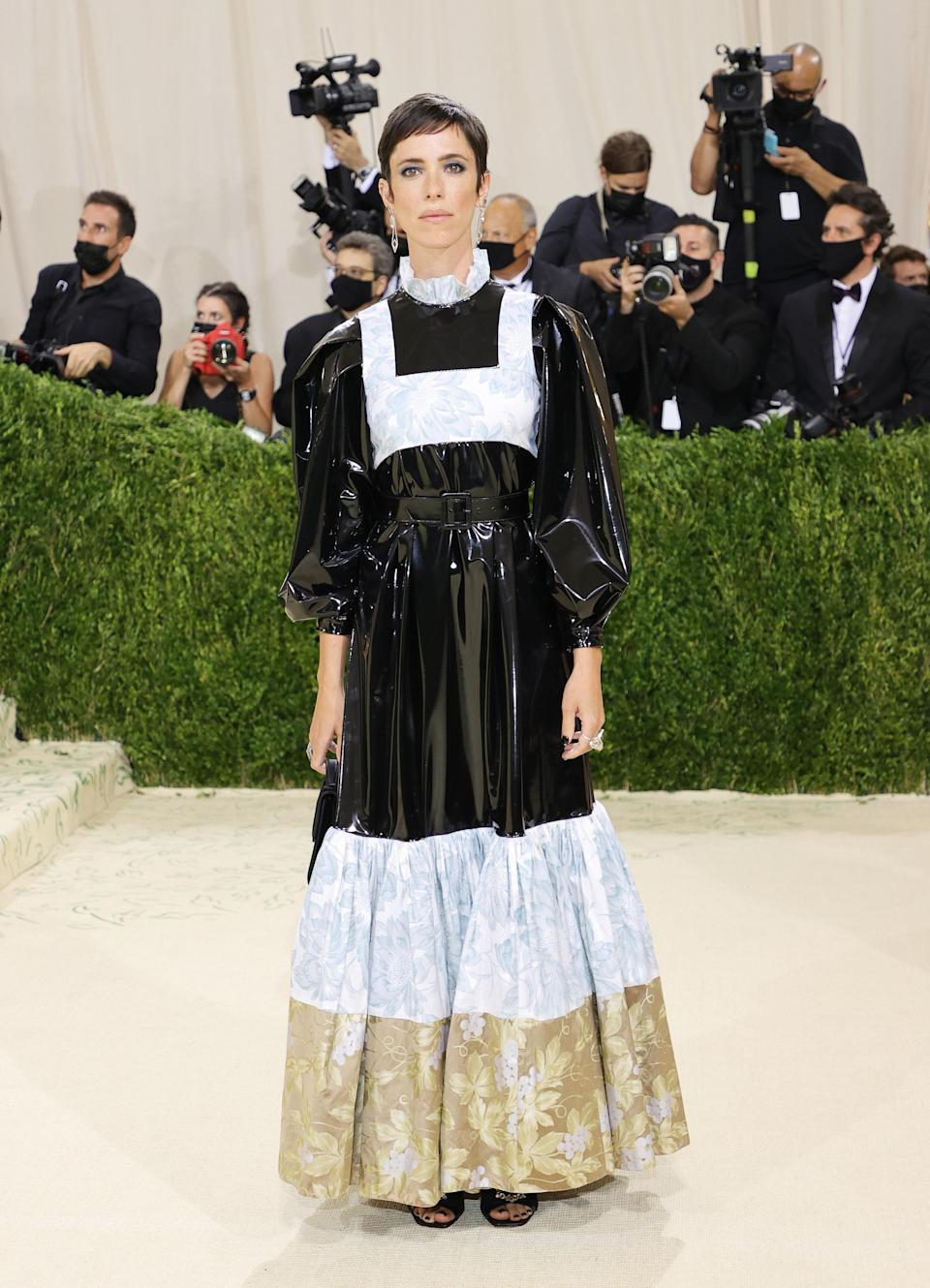 """<h1 class=""""title"""">Rebecca Hall, The 2021 Met Gala Celebrating In America: A Lexicon Of Fashion - Arrivals</h1><cite class=""""credit"""">Getty</cite>"""
